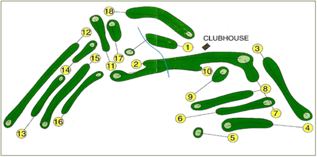 BGC Course Map